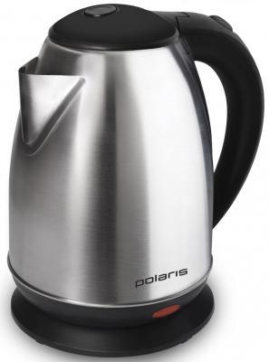 Чайник Polaris PWK 1745CA 1800 Вт серебристый 1.7 л металл  чайник polaris pwk 1864ca 1800 вт 1 8 л металл серебристый