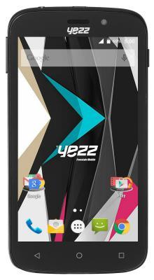 "Смартфон Yezz ANDY 5EI3 черный 5"" 4 Гб Wi-Fi GPS ANDY 5EI3 3G DS Black"