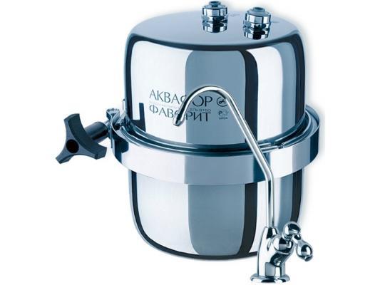 Фильтр для воды Аквафор B150 Фаворит Эко серебристый фильтр стационарный аквафор фаворит в150 многоступ исп 5