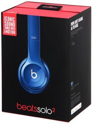 Наушники Apple Beats Solo2 On-Ear Headphones синий MHBJ2ZE/A