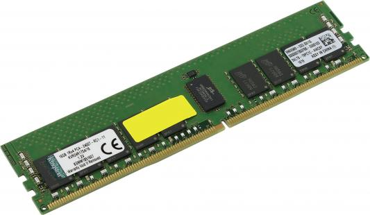 Оперативная память 16Gb PC4-19200 2400MHz DDR4 DIMM CL17 ECC Kingston KVR24R17S4/16