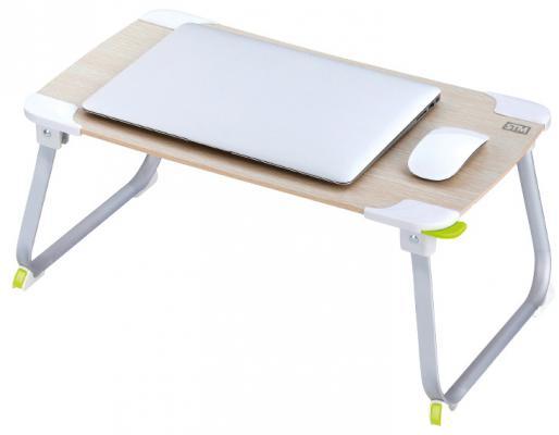Подставка для ноутбука 17 STM Laptop Table NT1 Wood 520x292 белый ey products e my creative wood table clock khaki 1 x aa