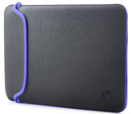 """Сумка для ноутбука 15.6"""" HP Chroma Sleeve серый фиолетовый V5C32AA"""