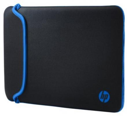 """Сумка для ноутбука 11.6"""" HP V5C21AA черный голубой"""