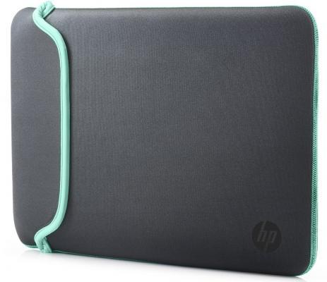 """Сумка для ноутбука 15.6"""" HP Chroma Sleeve серый зеленый V5C33AA"""