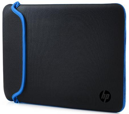 "Сумка для ноутбука 15.6"" HP Chroma Sleeve черный синий V5C31AA"