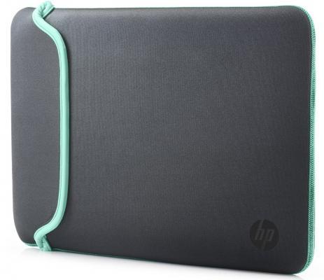 """Сумка для ноутбука 11.6"""" HP Chroma Sleeve серый зеленый V5C23AA"""