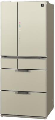все цены на  Холодильник Sharp SJ-GF60AT бежевый  онлайн