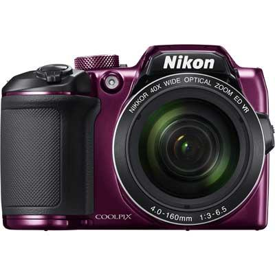 Фотоаппарат Nikon Coolpix B500 Plum фотоаппарат nikon coolpix a10 purple purple lineart 16mp 5x zoom sd usb 2 7