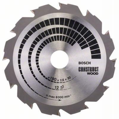 Пильный диск Bosch 190х30мм 2608640633