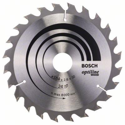 Пильный диск Bosch 184х30мм 2608640610