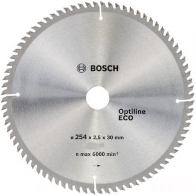 Пильный диск Bosch 254х30мм 2608641807