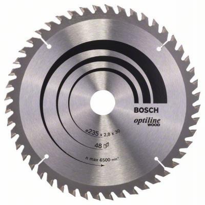 Пильный диск Bosch 235х30мм 2608640727