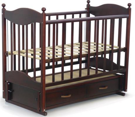 Кроватка с маятником Ведрус Эля (вишня)