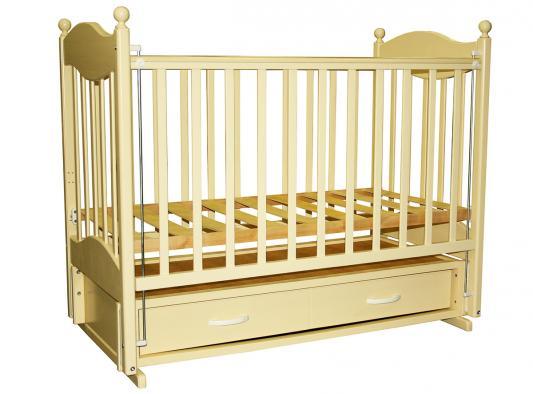 Кроватка с маятником Ведрус Эля (слоновая кость)
