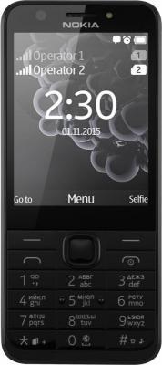 """Мобильный телефон NOKIA 230 черный серебристый 2.8"""""""