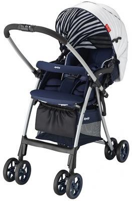 Купить Прогулочная коляска Aprica Luxuna Light CTS (сине-белый)