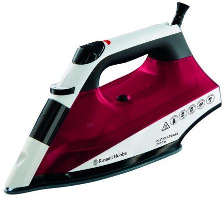 Утюг Russell Hobbs 22520-56 2400Вт красный белый утюг russell hobbs light easy 23590 56 2400вт синий белый