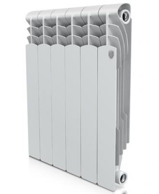 Радиатор Royal Thermo Revolution Bimetall 500 6 секций биметаллический радиатор rifar рифар b 500 нп 10 сек лев кол во секций 10 мощность вт 2040 подключение левое