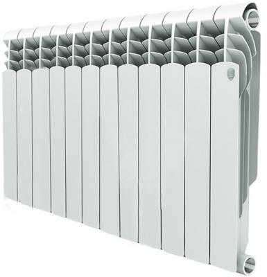 Радиатор Royal Thermo Vittoria 350 12 секций биметаллический радиатор rifar рифар b 500 нп 10 сек лев кол во секций 10 мощность вт 2040 подключение левое