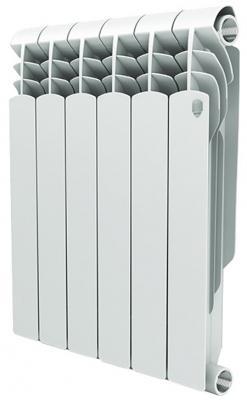 Радиатор Royal Thermo Vittoria 350 6 секций биметаллический радиатор rifar рифар b 500 нп 10 сек лев кол во секций 10 мощность вт 2040 подключение левое