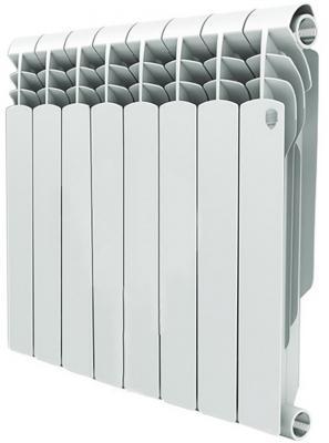 Радиатор Royal Thermo Vittoria 500 8 секций биметаллический радиатор rifar рифар b 500 нп 10 сек лев кол во секций 10 мощность вт 2040 подключение левое