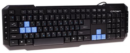 Клавиатура Crown CMK-314 USB черный цена