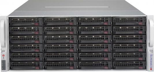 Серверный корпус 4U Supermicro CSE-847A-R1400LPB 1400 Вт чёрный