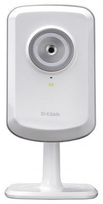 """Камера IP D-Link DCS-930L/B2A CMOS 1/5"""" 640 x 480 MJPEG RJ-45 LAN Wi-Fi белый"""