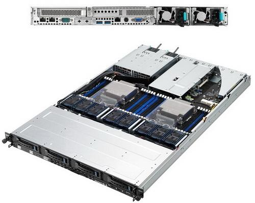 Серверная платформа Asus RS700-E8-RS4 V2 90SV03KA-M01CE0 серверная платформа asus ts300 e8 ps4