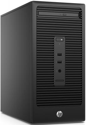 Системный блок HP 280 G2 G4400 3.3GHz 4Gb 500Gb HD510 DVD-RW Win7Pro Win10Pro клавиатура мышь черный V7Q81EA