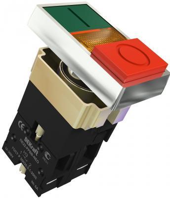 Переключатель  Schneider ElectricI-O PPBB 22 мм зеленый-красный 25062DEK