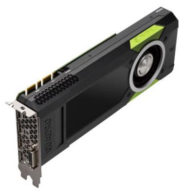 Видеокарта 8192Mb HP Quadro M5000 PCI-E GDDR5 DP DVI HDCP M6V53AA