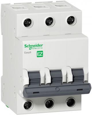 Выключатель нагрузки Schneider Electric Easy9 3П 40А EZ9S16340 автомат 1p 20а тип с 4 5ка schneider electric easy9