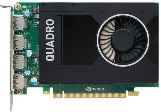 Фото Видеокарта 4096Mb PNY Quadro M2000 PCI-E 2xDP VCQM2000BLK-1 OEM