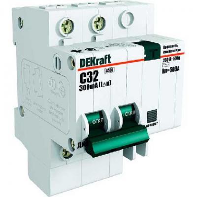 Дифференциальный автомат Schneider Electric 2Р 6А 30мА тип AC 15001DEK  автомат 1p 6а тип с 4 5ка schneider electric easy9