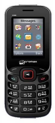 """Мобильный телефон Micromax X088 черный красный 1.8"""""""