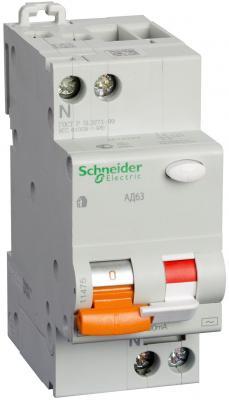 Дифференциальный автоматический выключатель Schneider Electric АД63 1П+Н 25A 30MA C 11474