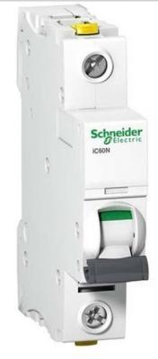Автоматический выключатель Schneider Electric iC60L 1П  6A B A9F93106 автоматический выключатель schneider electric ic60n 1п 6a b a9f78106