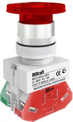 Выключатель кнопочный Schneider Electric красный 25034DEK