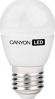 Лампа светодиодная шар Canyon E27 6W 4000K PE27FR6W230VN лампа светодиодная маяк b45 e14 6w 4000k шар матовый е14 аc 175 250v 6w