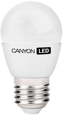 Лампа светодиодная шар Canyon E27 6W 2700K PE27FR6W230VW