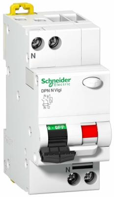 Дифференциальный автомат Schneider Electric DPN N VIGI 6КА 40A C 30МA AC A9N19669 dhl ems 5 lots 1pc new for sch neider vigi dpn ele 1p n 25a breaker f2