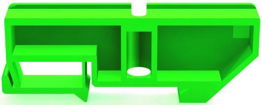 Изолятор для установки нулевой шины  Schneider Electric 32252DEK зеленый