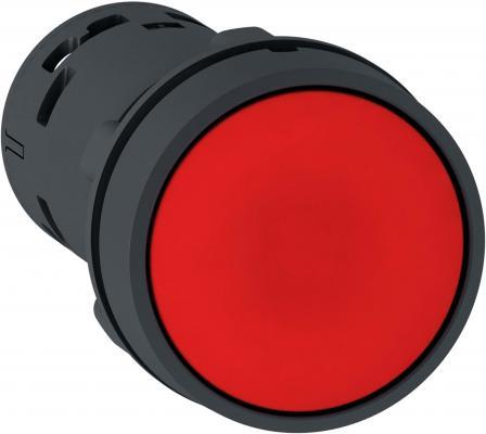 Кнопка Schneider Electric 22мм с возвратом красный XB7NA42 кнопка schneider electric xb5aa21 черный