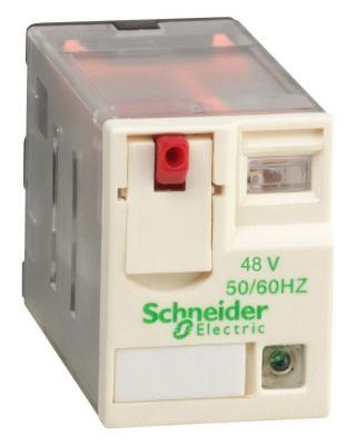 Реле миниатюрное Schneider Electric RXM2AB2P7 реле электромагнитное schneider electric lrd22c lr d22c 16 24a