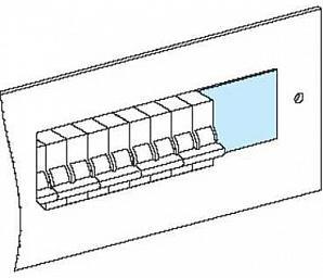 Панель-заглушка  Schneider Electric 1000 мм 03220 панель лицевая schneider electric actassi 1 модуль белый 24 шт vdi88240