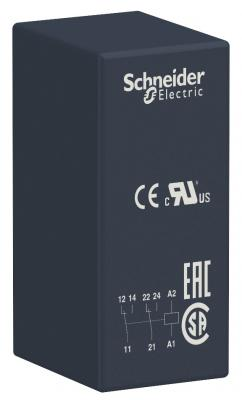Реле интерфейсное Schneider Electric 2 перекидных контакта 220В RSB2A080M7 реле электромагнитное schneider electric lrd22c lr d22c 16 24a
