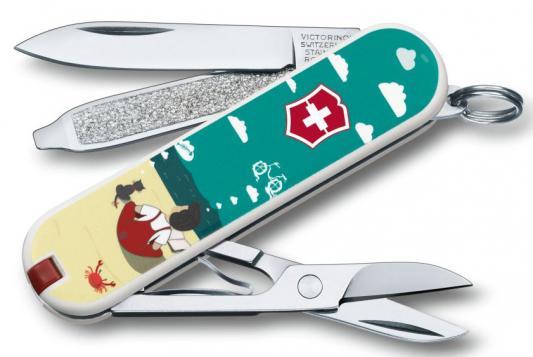 Нож перочинный Victorinox Classic 0.6223.L1606 7 функций