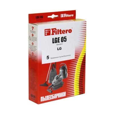 Пылесборники Filtero LGE 05 Standard 5 шт filtero lge 03 standard пылесборник 5 шт